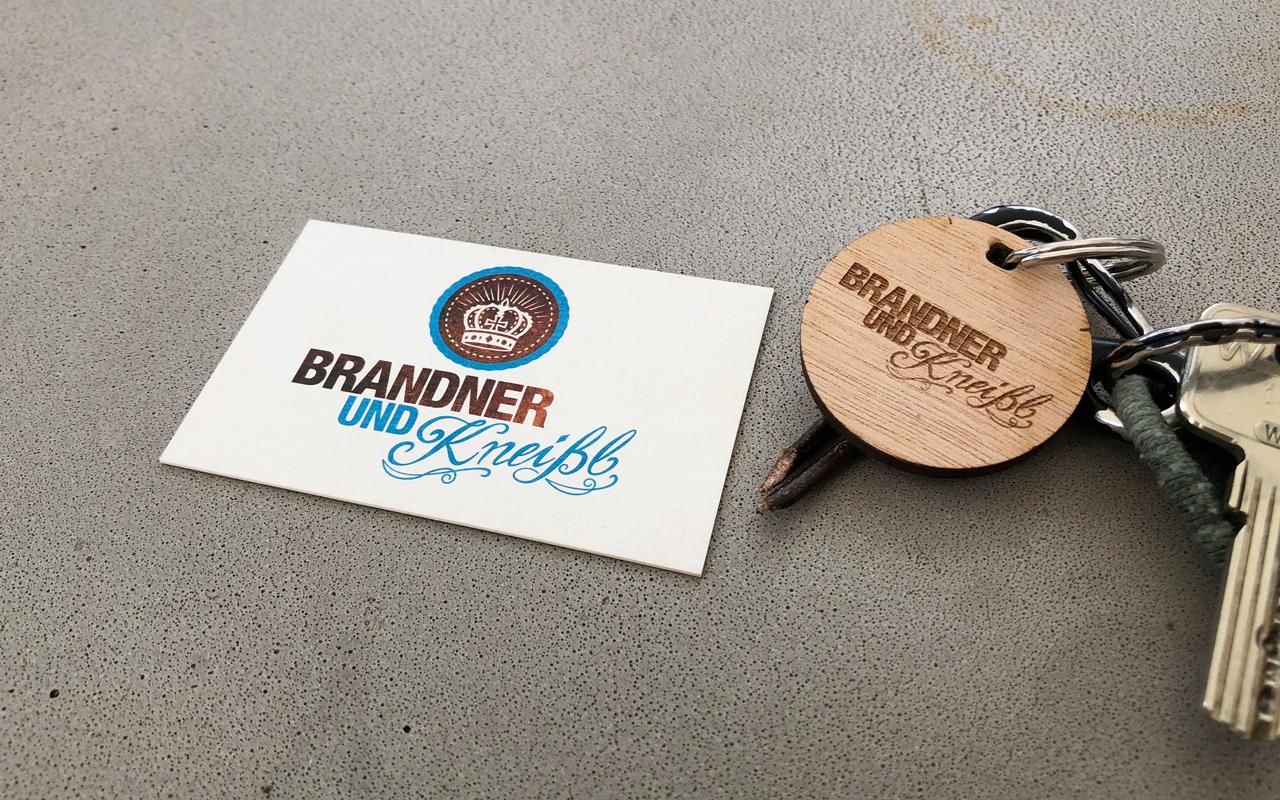 Corporate Design, Logo Entwicklung, Brandner und Kneißl, Michi Thalhammer
